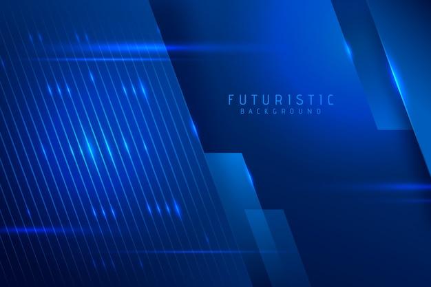 Concetto futuristico astratto della carta da parati