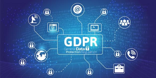Concetto generale di regolazione della protezione dei dati.
