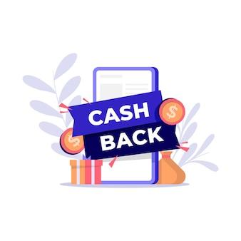 Concetto per programma di cashback