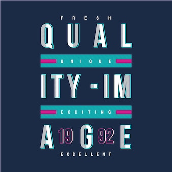 Concetto urbano della maglietta di progettazione di immagine di qualità
