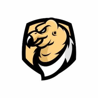 Condor - vector logo / icona illustrazione mascotte