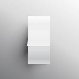 Condotto adesivo disegno del nastro mockup