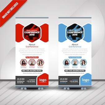 Conferance roll up banner