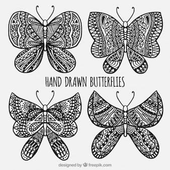 Confezione da farfalle ornamentali