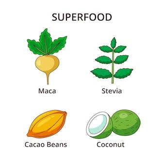 Confezione di alimenti super freschi