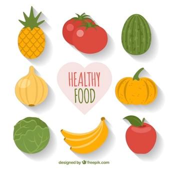 Confezione di cibo sano