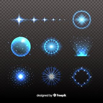 Confezione di effetti luminosi tecnologici