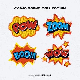 Confezione di fumetti comici