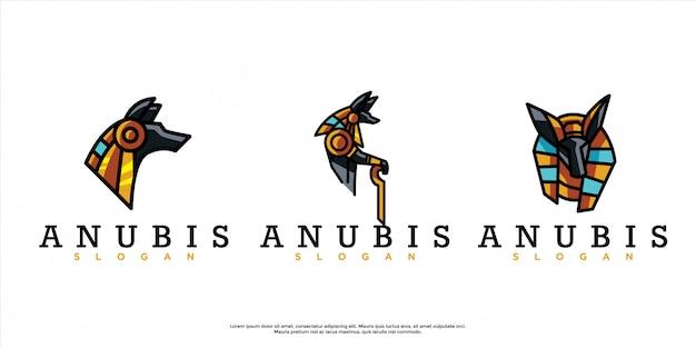 Confezione di logo anubi