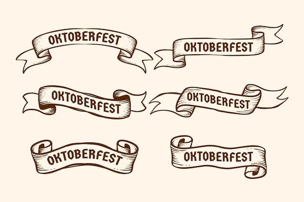 Confezione di nastri dell'oktoberfest