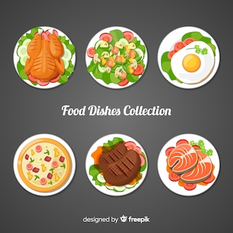 Confezione di piatti alimentari