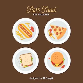 Confezione di piatti piatti