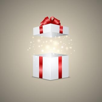 Confezione regalo con un effetto magico