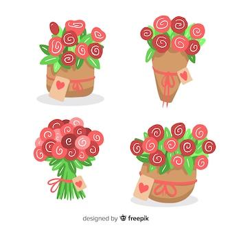 Confezione rose di san valentino