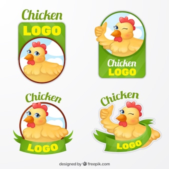 Confezioni di logotipi aziendali