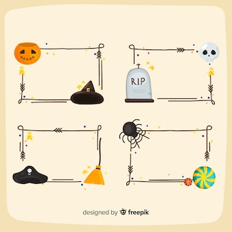 Confine impostato per halloween