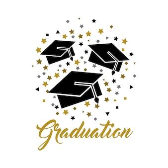 Congratulazioni grad celebrazione card