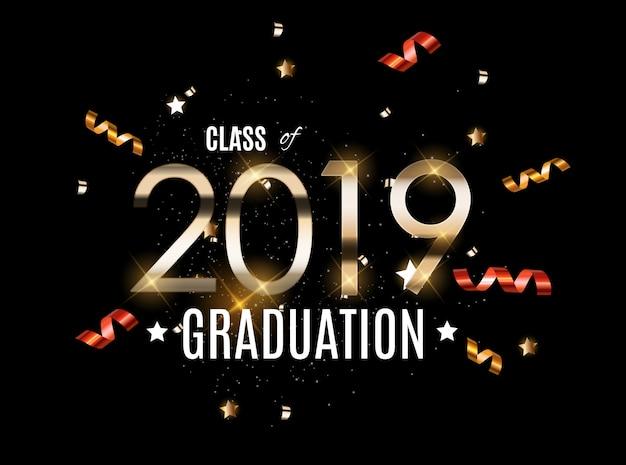 Congratulazioni per la graduation 2019 class