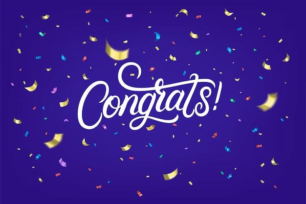 Congratulazioni scritte a mano scritte testo