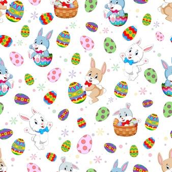 Coniglietti pasquali senza cuciture