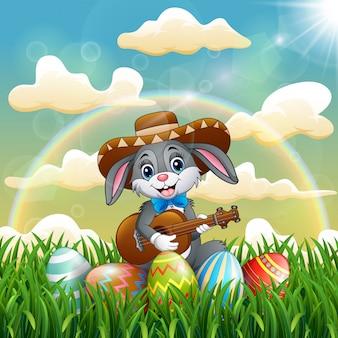 Coniglio cartone animato