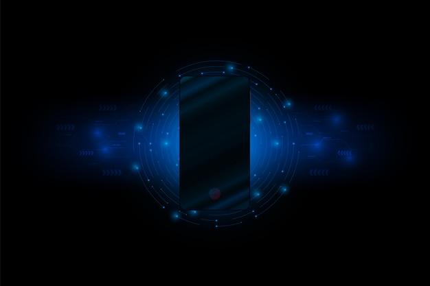 Connessione smartphone di dati per il futuro