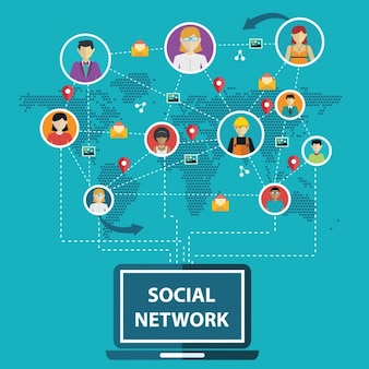 Connessioni social networking