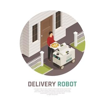 Consegna automatica degli alimenti