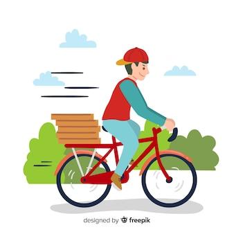 Consegna della bicicletta