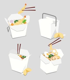Consegna di cibo giapponese