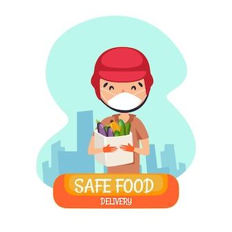 Consegna sicura degli alimenti