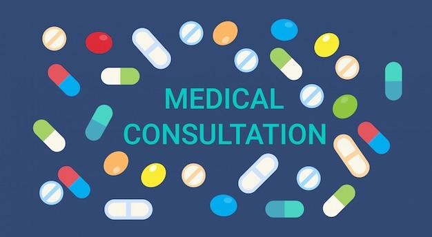Consultazione medica online doctor health care clinics hospital service medicine banner