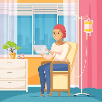 Contagocce per paziente oncologico e endovenoso