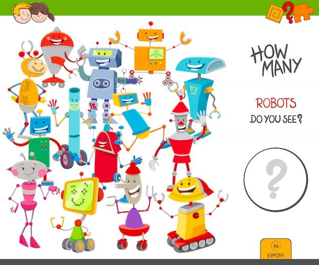 Conteggio delle immagini orientate a destra e a sinistra per i bambini
