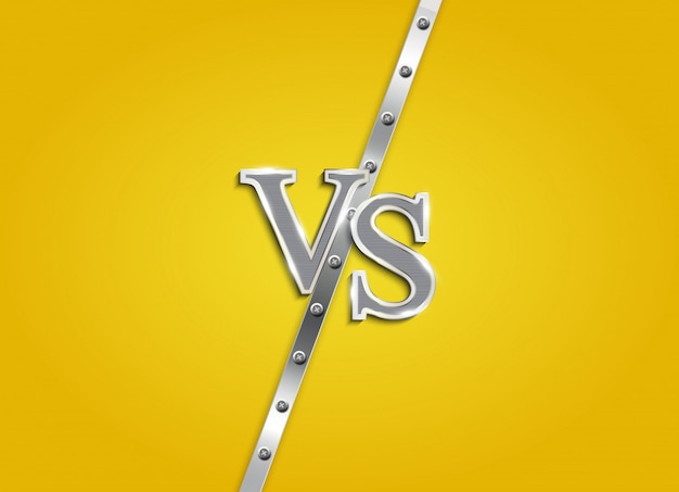 Contro lettere combattono sfondo. illustrazione
