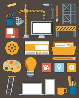 Contruction sito web di supporto alla manutenzione della tecnologia