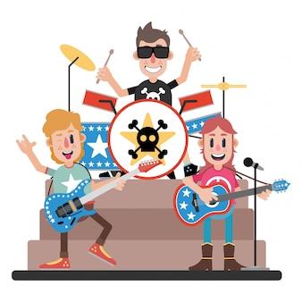 Cool rock band