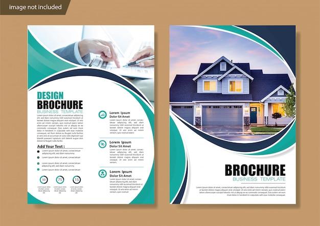 Copertina brochure flyer o opuscolo report report