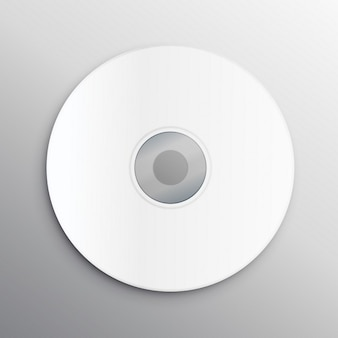 Copertina del cd vuoto modello di struttura mockup
