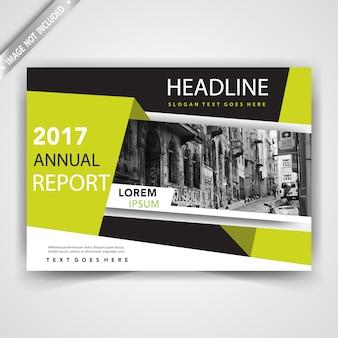 Copertina del flyer di affari