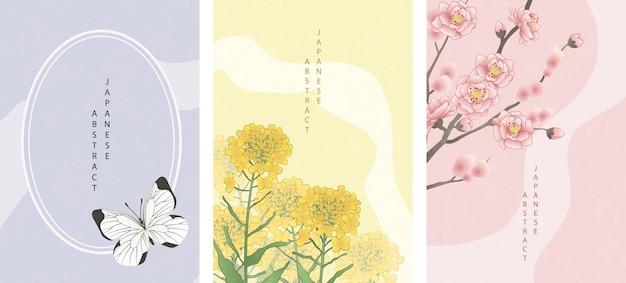 Copertina in stile giapponese orientale