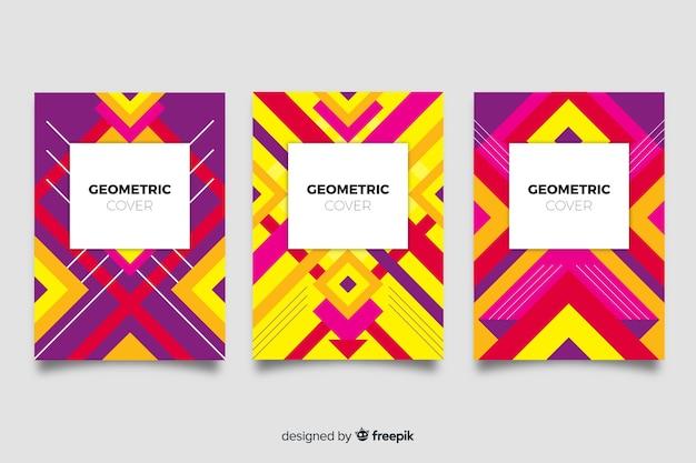 Copertine con disegno geometrico