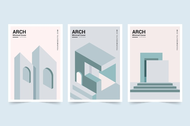 Copertine dall'architettura minimale