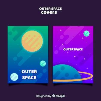 Coperture dello spazio esterno sfumato