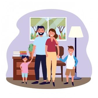 Coppia con figli