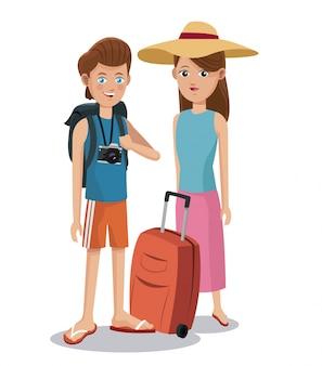 Coppia di viaggio