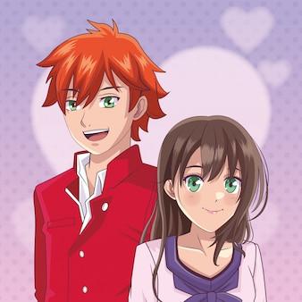 Coppia manga anime