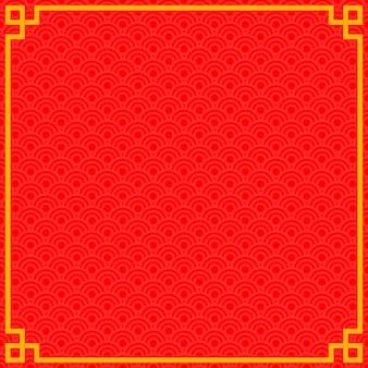 Cornice cinese di capodanno