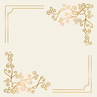 Cornice d'oro