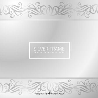 Cornice d'argento
